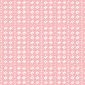 DITSY BUD STRIPE Soft Pink