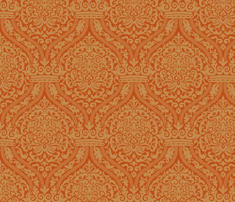 Rococo Damask 8a fabric by muhlenkott on Spoonflower - custom fabric