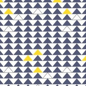 triangles blue/yellow