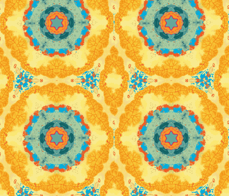 The Road to Marrakesh fabric by floramoon on Spoonflower - custom fabric