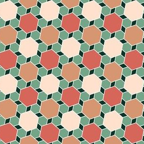 06277215 : hexes 2to1 x3 : succulent