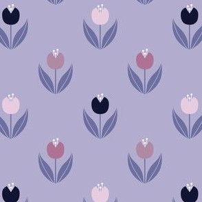 TULIPS | Light Periwinkle