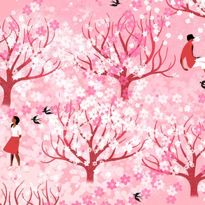 Cherrytrees Pink
