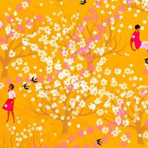 Cherrytrees Yellow