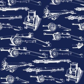 Olde Artillerie on Navy // Small