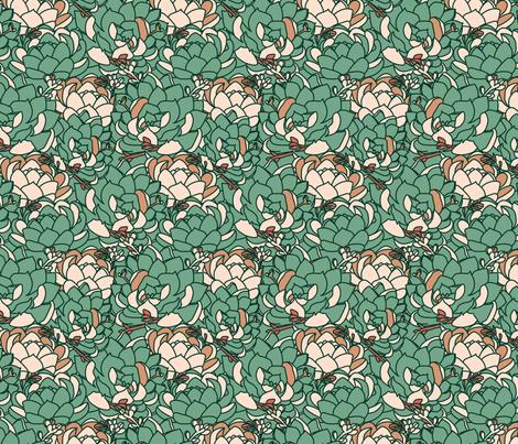 overgrown fabric by annaboo on Spoonflower - custom fabric