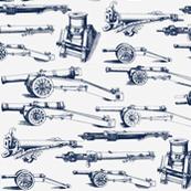 Olde Artillery // Blue