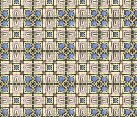 tiling_Documents_10 fabric by artsybee_studio on Spoonflower - custom fabric