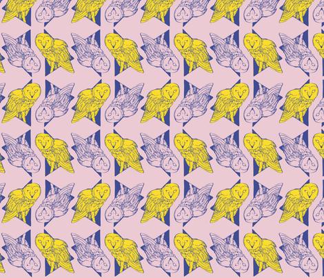 NightOwl: Strawberry fabric by brooke_elayyne on Spoonflower - custom fabric