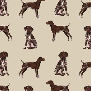 german shorthaired pointer fabric dogs pets and dog fabric