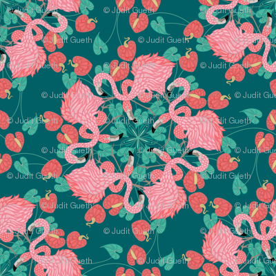 flamingo_mandala_teal
