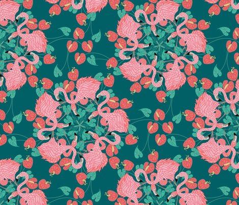 Flamingo_mandala_teal_shop_preview