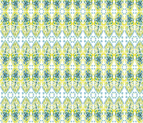 Fish Shaped Curtain fabric by paisleylady on Spoonflower - custom fabric