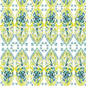 Yellow Abstract Fish