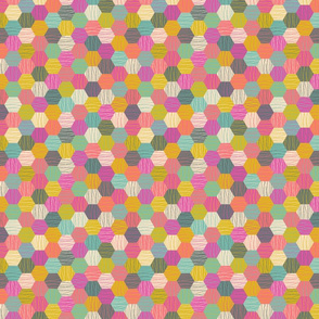 Multicolor honeycombs 2