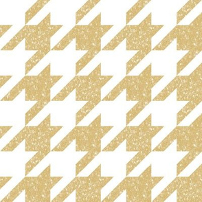 The Houndstooth Check ~ Sanded Gilt Patina