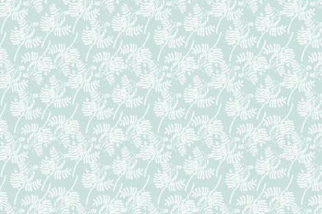 WILD HERBS BLUE fabric by moosedesigncompany on Spoonflower - custom fabric