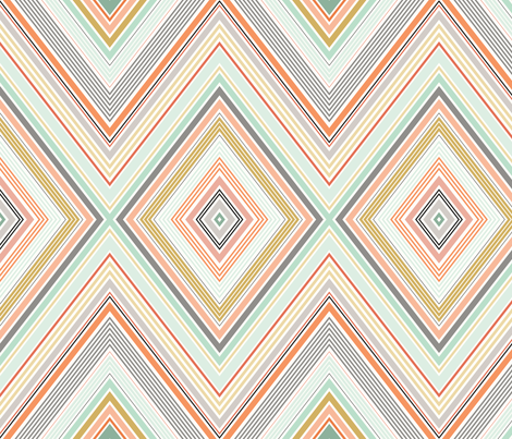 Diamond fabric by northeighty on Spoonflower - custom fabric