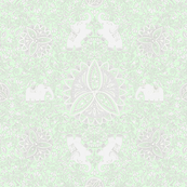 Snowdrop_Saree_neogreen-grey medium