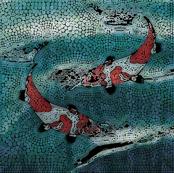 Mosaic Koi