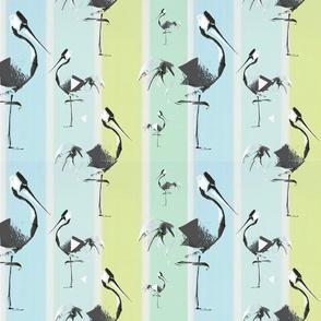 Impressions of a paper crane