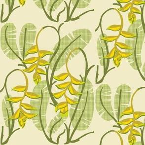 heliconia foliage [yarrow]