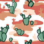 Cactus in the Desert