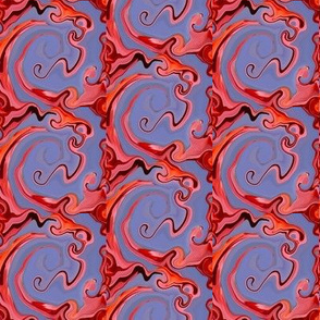 Hot Cocoa Swirling Trellis