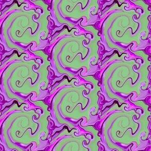 Purple Swirl Trellis