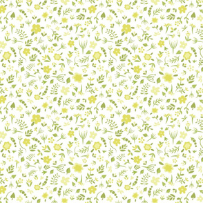 Floral Dreams 4 (Yellow)