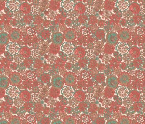 Wildflowers desert blooms fabric by melisse_pinto_designs on Spoonflower - custom fabric