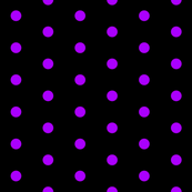 Black and Purple Polka Dots