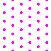 White and Magenta Polka Dots