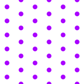 White and Purple Polka Dot