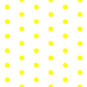 White and Yellow Polka Dots