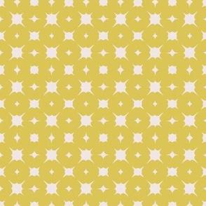 mini pebbles~mustard on sunbleached pink