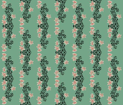 Dragonsblood dark fabric by katawampus on Spoonflower - custom fabric