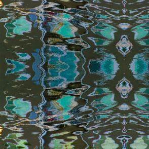 Water Reflection 2 Large Print