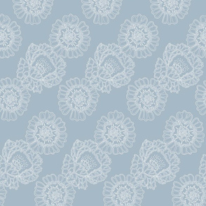 floral_rows_blue