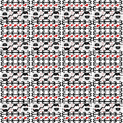 Tribal Swan (Red Fish) small
