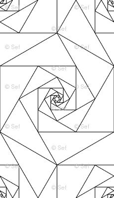 hexagonal geo roses