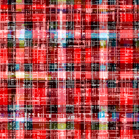 Brighten that Grunge the Lumberjack by Su_G fabric by su_g on Spoonflower - custom fabric
