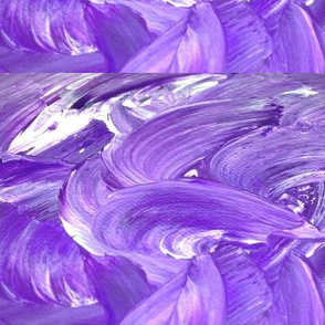 Violet waves original artwork