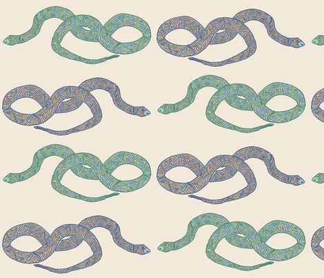 reptilian_love_bold fabric by escha_stein on Spoonflower - custom fabric