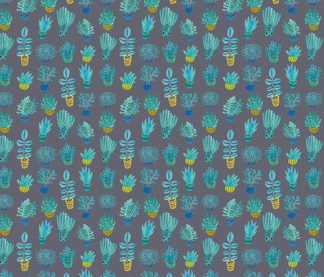 Succulent_repeat_pattern_tile_dark_grey_150dpi_shop_preview