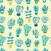 Succulent_repeat_pattern_tile_light_yellow_150dpi_shop_thumb