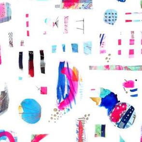 Mixed Media Painterly Abstract