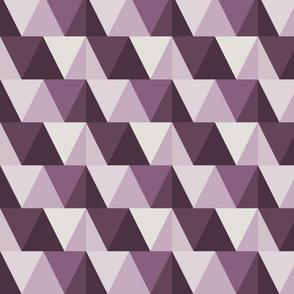 triangles // dark purple