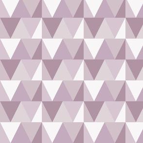 triangles // light purple