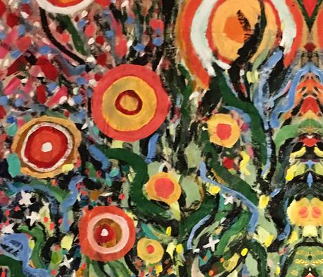 Trippy fabric by katiebugstars on Spoonflower - custom fabric